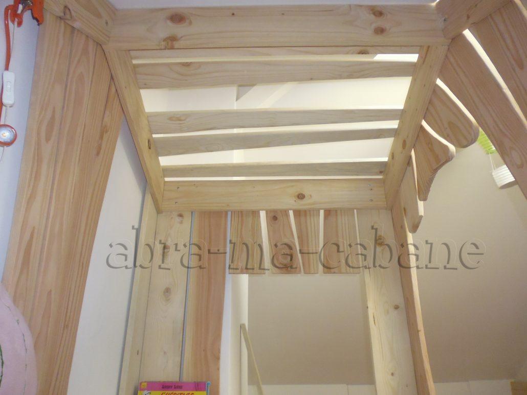 lit cabane bois massif enfant sequoia abra ma cabane. Black Bedroom Furniture Sets. Home Design Ideas