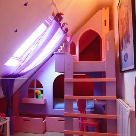 lit cabane en bois sur mesure pour enfant abra ma cabane. Black Bedroom Furniture Sets. Home Design Ideas