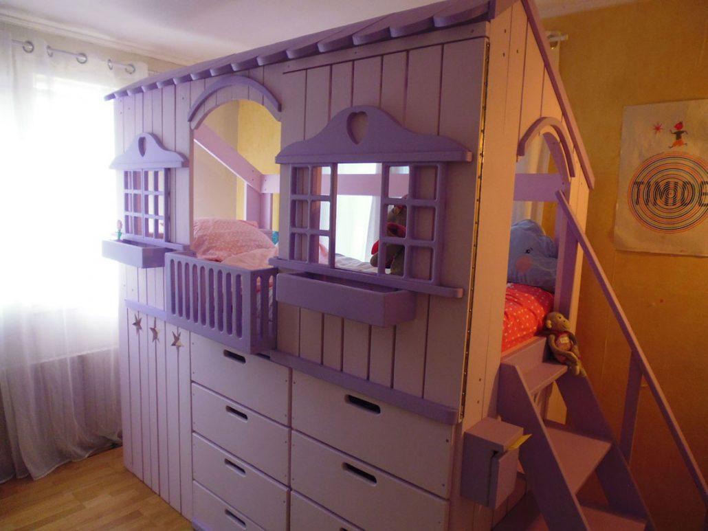 lit cabane rom o lit cabane en bois pour enfant abra ma cabane. Black Bedroom Furniture Sets. Home Design Ideas