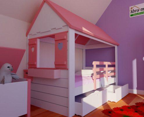lit-cabane maison